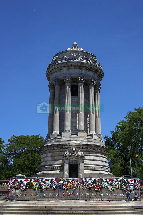 May 27, 2019 - New York, New York, United States of America - View of the Soldiers and Sailors Monument in Manhattan in New York in the United States this Monday, 27th day that is celebrated Memorial Day. (Credit Image: © William Volcov/ZUMA Wire)