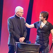 NLD/Aalsmeer/20151120 - 1e show Mindmasters Live 2015, boer Geert en mentalist