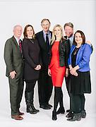 WASHINGTON, DC - APRIL 3: Members of the White House Correspondents Association.