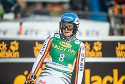 Christina Ackermann (GER) during second run at the Ladies' Slalom at 56th Golden Fox event at Audi FIS Ski World Cup 2019/20, on February 16, 2020 in Podkoren, Kranjska Gora, Slovenia. Photo by Matic Ritonja / Sportida