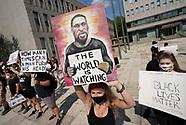Black Lives Matter stand-in in Bethlehem, Pennsylvania