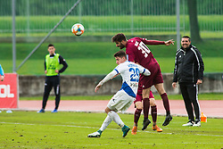 Momir BOJIC vs Dario VIZINGER during Football match between NK Triglav Kranj and NK Celje, on May 12, 2019 in Sport center Kranj, Kranj, Slovenia. Photo by Peter Podobnik / Sportida