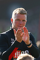 Football - 2017 / 2018 Premier League - AFC Bournemouth vs. Swansea City<br /> <br /> Bournemouth Manager Eddie Howe as his team take a final home game lap of honour at Dean Court (Vitality Stadium) Bournemouth <br /> <br /> COLORSPORT/SHAUN BOGGUST