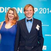 NLD/Amsterdam//20140331 - Uitreiking Edison Pop 2014, Lucky Fonz III en partner
