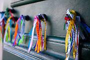 Salvador_BA, Brasil...Interior da Igreja do Bonfim em Salvador, capital da Bahia. Na foto fitinhas do Senhor do Bonfim...Inside the Church of Bonfim in Salvador, Bahia capital. In the photo ribbons of Senhor do Bonfim...Foto: JOAO MARCOS ROSA / NITRO