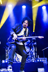 August 2, 2017 - Helsingborg, Sweden - Steve Lukather..Toto in concert, Helsingborg, Sweden, 2017-08-02..© Rickard Nilsson / IBL (Credit Image: © Rickard Nilsson/IBL via ZUMA Press)