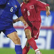 Turkish soccer National team.<br /> Turkey between Liechtenstein match. Turkey's Arif Erdem Bulent korkmaz during their in AliSamiYen Stadium Istanbul/TURKEY .<br /> Photo by Aykut AKICI/TurkSporFoto