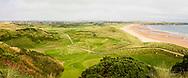 05-09-2018 Cruden Bay Golf Club in Peterhead, Aberdeenshire, Scotland. PANORAMA