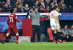 Jürgen Klopp, Liverpool´s coach during the UEFA Champions League, Group E, Sevilla v Liverpool football match at Estadio Ramon Sanchez Pizjuan in Sevilla, Spain, November 21, 2017. Photo by Giuliano Bevilacqua/ABACAPRESS.COM