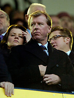 Photo: Ed Godden.<br /> Tottenham Hotspur v Chelsea. The Barclays Premiership. 05/11/2006. England Manager Steve McLaren watches from the stands.