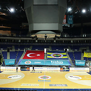 Fenerbahce Beko's and Anadolu Efes's during their Turkish Basketball ING Super League match Fenerbahce Beko between Anadolu Efes at the Ulker Sports Arena on April 16, 2021 in Istanbul, Turkey. Photo by Aykut AKICI/TURKPIX