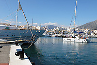 Yachts, marina, harbour, Puerto Banus, Marbella, Spain, April, 2016, 201604142411<br /> <br /> Copyright Image from Victor Patterson, 54 Dorchester Park, Belfast, UK, BT9 6RJ<br /> <br /> t1: +44 28 9066 1296 (from Rep of Ireland 048 9066 1296)<br /> t2: +44 28 9002 2446 (from Rep of Ireland 048 9002 2446)<br /> m: +44 7802 353836<br /> <br /> e1: victorpatterson@me.com<br /> e2: victorpatterson@gmail.com<br /> <br /> The use of my copyright images is subject to my Terms & Conditions.<br /> <br /> It is IMPORTANT that you familiarise yourself with them. They are available on my website at www.victorpatterson.com.<br /> <br /> None of my copyright images may be used on a website unless they are visibly watermarked, i.e. © Victor Patterson within the body of the visible image. Metadata denoting my copyright must NOT be deleted. <br /> <br /> Web use is extra at currently recommended NUJ rates.