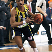Fenerbahce's Angel McCOUGHTRY during their EuroLeague Women Basketball League game 2 match Galatasaray MP between Fenerbahce at the Abdi Ipekci Arena in Istanbul at Turkey on Friday, February, 05, 2011. Photo TURKPIX