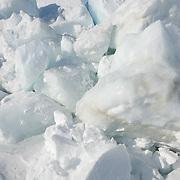 Beaufort Sea ice pack. Spring. Offshore from Kaktovik, ak.