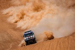 January 11, 2019 - Arequipa, Peru - AREQUIPA, PU - 11.01.2019: DAKAR 2019 - Andrey Karginov (RUS) during the Dakar Rally 2019, on Friday (11), in Arequipa, Peru. (Credit Image: © Vinicius Branca/Fotoarena via ZUMA Press)