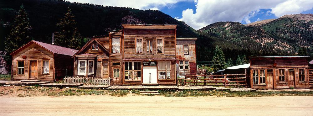st elmo ghost town; colorado; usa