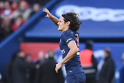 February 9, 2019 - Paris, France - 09 EDINSON CAVANI (PSG) - JOIE - BLESSURE (Credit Image: © Panoramic via ZUMA Press)