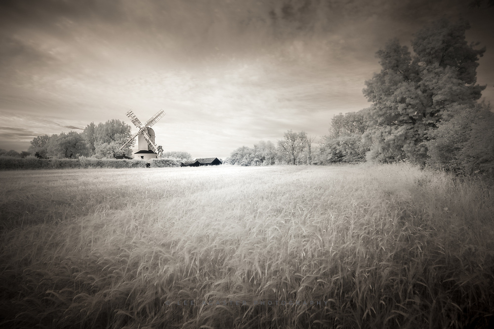 Saxstead Mill the other evening