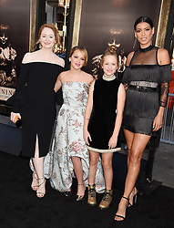 HOLLYWOOD, CA - AUGUST 07: Actor attends the premiere of New Line Cinema's 'Annabelle: Creation' at TCL Chinese Theatre IMAX on August 07, 2017 in Los Angeles, California. 07 Aug 2017 Pictured: HOLLYWOOD, CA - AUGUST 07: (L-R) Actresses Miranda Otto, Talitha Bateman, Lulu Wilson and Stephanie Sigman attend the premiere of New Line Cinema's 'Annabelle: Creation' at TCL Chinese Theatre IMAX on August 07, 2017 in Los Angeles, California. Photo credit: Jeffrey Mayer / MEGA TheMegaAgency.com +1 888 505 6342