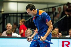 18-10-2013 TENNIS: ATP ERSTE BANK OPEN: WENEN<br /> Jo Wilfried Tsonga (FRA)<br /> ***NETHERLANDS ONLY***<br /> ©2013-FotoHoogendoorn.nl