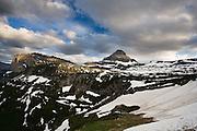 Mid July atop Logan Pass. Glacier National Park