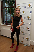 KIMBERLEY GARNER ( MADE IN CHELSEA ), STREETSMART RAISES RECORD-BREAKING £805,000 TO TACKLE HOMELESSNESS. Celebrate with a drinks party at the Cabinet Office. Horse Guards Rd. London. 13 May 2013.