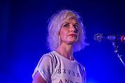 Jane Horrocks & the If You Kiss Me, Kiss Me Band in the Media tent - The 2016 Latitude Festival, Henham Park, Suffolk.