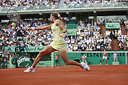 Roland Garros. Paris, France. June 2nd 2006. .Amelie Mauresmo against Jelena Jankovic.