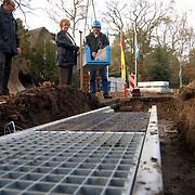Start aanleg wildtunnel naarderstraat Huizen door wethouder Willy Metz