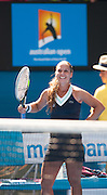 Dominika Cibulkova of Slovakia faced Angieszka Radwanska of Poland in Day 11 of the Australian Open and quickly dispatched her opponent 6-31 6-2. The match was held at Melbourne's Rod Laver Arena.  Cibulkova now advances to the Australian Open Women's Finals.