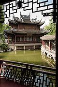 Deyue Hall in Yu Yuan Gardens Shanghai, China