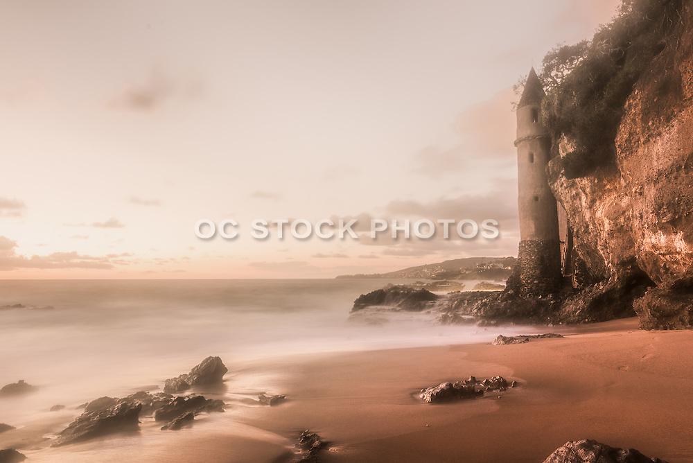Pirate Tower at Victoria Beach in Laguna Beach California