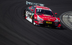 June 18, 2017 - MogyoróD, Hungary - Nico Müller of Switzerland and Audi Sport Team Abt Sportsline racing driver during the Hungarian DTM race on June 18, 2017 in Mogyoród, Hungary. (Credit Image: © Robert Szaniszlo/NurPhoto via ZUMA Press)