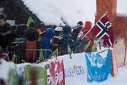 Norwegian fans during Slalom race at 2019 World Para Alpine Skiing Championship, on January 23, 2019 in Kranjska Gora, Slovenia. Photo by Matic Ritonja / Sportida