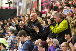 New Balance Indoor Grand Prix Track & FIeld:  cheering fans