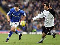 Fotball<br /> England 2004/2005<br /> Foto: SBI/Digitalsport<br /> NORWAY ONLY<br /> 22.01.2005<br /> <br /> Birmingham City v Fulham<br /> St Andrew's Stadium, Birmingham. Barclays Premiership. <br /> Damien Johnson and Carlos Bocanegra