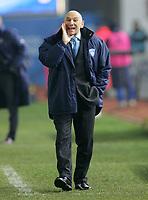 """L'Allenatore dell'Empoli Luigi Cagni<br /> Empoli Trainer Luigi Cagni<br /> Italian """"Serie A"""" 2006-07 <br /> 13 Jan 2007 (Match Day 19)<br /> Empoli-Parma (2-0)<br /> """"Castellani"""" Stadium-Empoli-Italy<br /> Photographer Luca Pagliaricci INSIDE"""