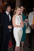 MICHAEL ACTON SMITH; KATHRYN PARSONS; AMBER MAXMIN, The Veuve Clicquot Business Woman Of The Year Award, celebrating women's excellence in business and commitment to sustainability. Claridge's, Brook Street, London, 22 April 2013