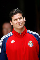 20 May 2007: Chivas Assisant Coach during a 1-1 tie for MLS Chivas USA vs. Los Angeles Galaxy pro soccer teams at the Home Depot Center in Carson, CA.