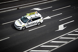 Frutabela car during the 5th Stage of 27th Tour of Slovenia 2021 cycling race between Ljubljana and Novo mesto (175,3 km), on June 13, 2021 in Slovenia. Photo by Matic Klansek Velej / Sportida