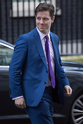 © licensed to London News Pictures. London, UK 04/12/2012. Fraser Nelson, the editor of The Spectator leaving Downing Street as most editors of the national daily newspapers meeting the Prime Minister David Cameron to discuss ideas for a new system of press regulation. Photo credit: Tolga Akmen/LNP