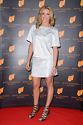 Gabby Logan attends the RTS Programme Awards. London, United Kingdom. Tuesday, 18th March 2014. Picture by Chris Joseph / i-Images