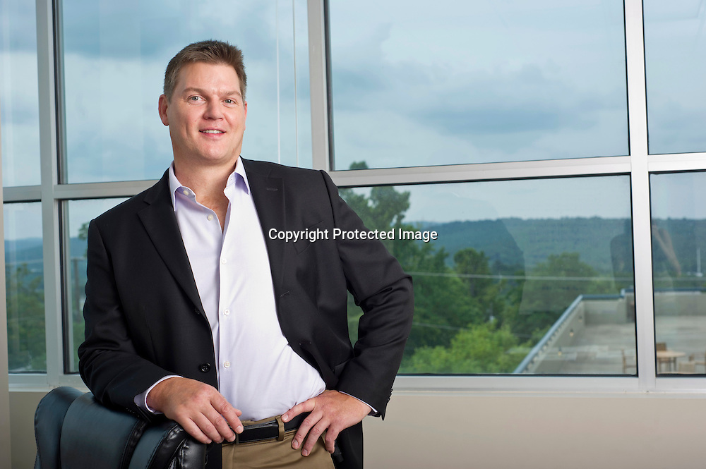 Judd Hollas president and CEO of EquityNet in Fayetteville, Arkansas