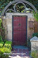 63412-01110 Red gate in St Augustine, FL