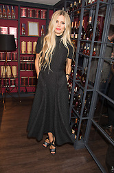 LAURA BAILEY at the launch of La Maison Remy Martin pop-up private members club at 19 Greek Street, Soho, London on 2nd November 2015.