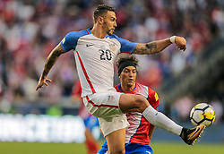 September 1, 2017 - Harrison, NJ, USA - Harrison, N.J. - Friday September 01, 2017:   Geoff Cameron during a 2017 FIFA World Cup Qualifying (WCQ) round match between the men's national teams of the United States (USA) and Costa Rica (CRC) at Red Bull Arena. (Credit Image: © John Dorton/ISIPhotos via ZUMA Wire)