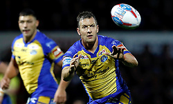 Leeds Rhinos Danny McGuire in action against Hull FC, during the Betfred Super League Semi-Final match at the Headingley Carnegie Stadium, Leeds. PRESS ASSOCIATION Photo. Picture date: Friday September 29, 2017. See PA story RUGBYL Leeds. Photo credit should read: Martin Rickett/PA Wire. RESTRICTIONS: Editorial use only. No commercial use. No false commercial association. No video emulation. No manipulation of images.