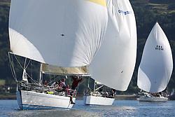 Peelport Clydeport Largs Regatta Week 2013 <br /> <br /> GBR9740R, Sloop John T, Swan 40, Iain & Graham Thomson, CCC <br /> Largs Sailing Club, Largs Yacht Haven, Scottish Sailing Institute