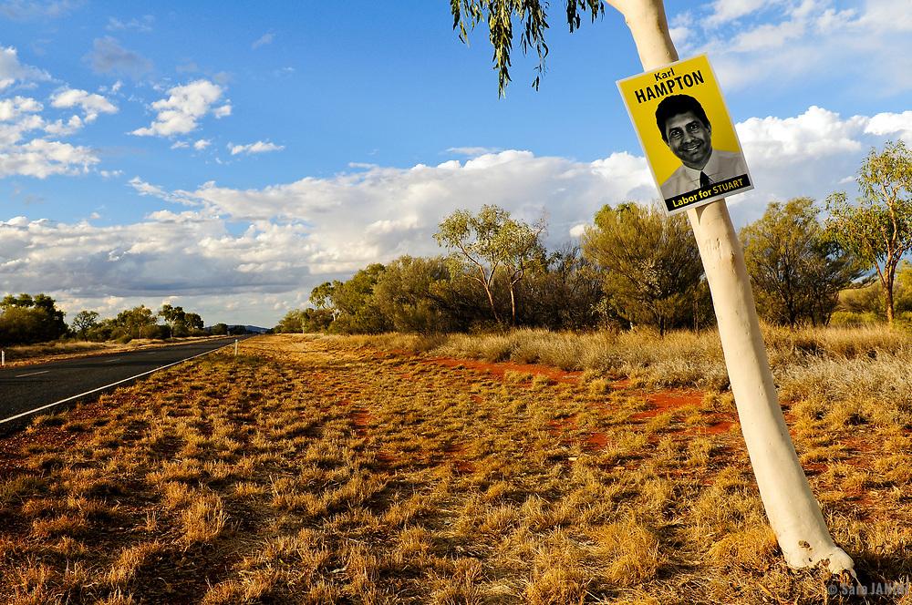 The Stuart Highway, Northern Territory, Australia, Oceania