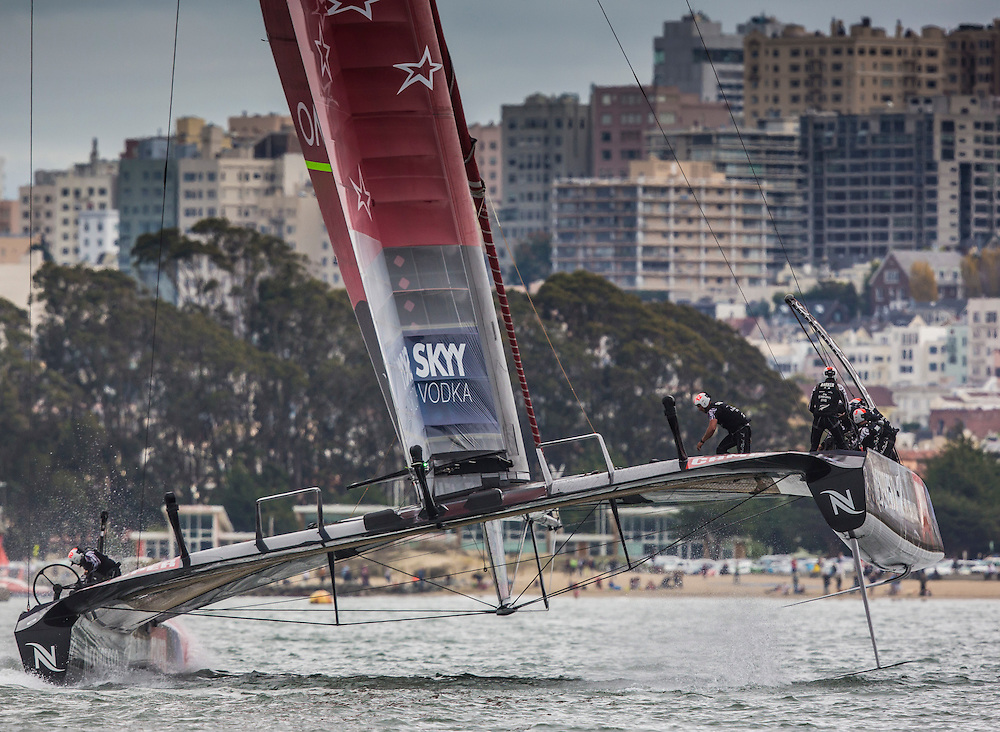 Emirates Team New Zealand<br /> <br /> Race 13 over time limit<br /> Starting race 13 again<br /> <br /> 2013 America's Cup